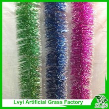 Halloween or birthday or party decorative wholesale blue tinsel
