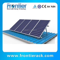Angle adjustable roof solar mounting system
