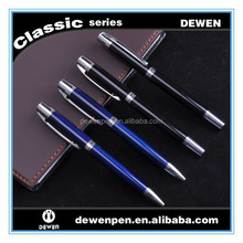 pair of metal pen,factory price heavy metal body ballpoint pens