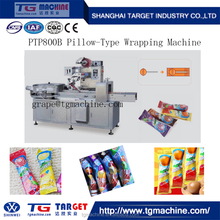 PTP Round Lollipop Candy Pillow Packing Machine