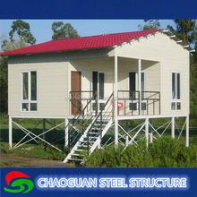Transportation fast residential good container house for family living, worker dormitory