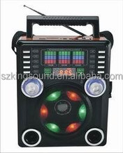 FM/AM/SW1-9 RECEIVER RADIO USB/SD PLAYER WITH DISCO LIGHT