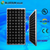 Chinese good performance with best price solar panel 200w mono frame plastic with tuv