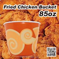 KFC paper disposable fried chicken bucket