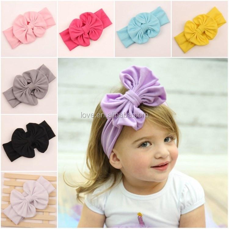 Pin Baby Headbands Wholesale Bow Hair Bows