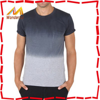 Fashion New Design Gradient Color Shirts Wholesale/Dip Dyed TShirts