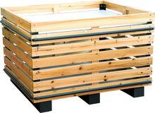 wooden supermarket display shelves for vegetable and fruit