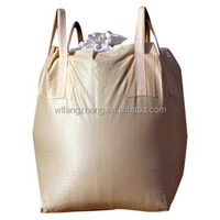 firewood mesh bag new design polypropylene pp bulk bag1000kg for cement concrete aggretate