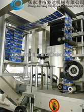 Full automatic sleeving label packing machine for bottle