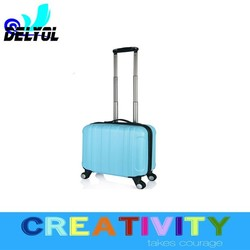 16inch abs+pc trolley luggage suitcase