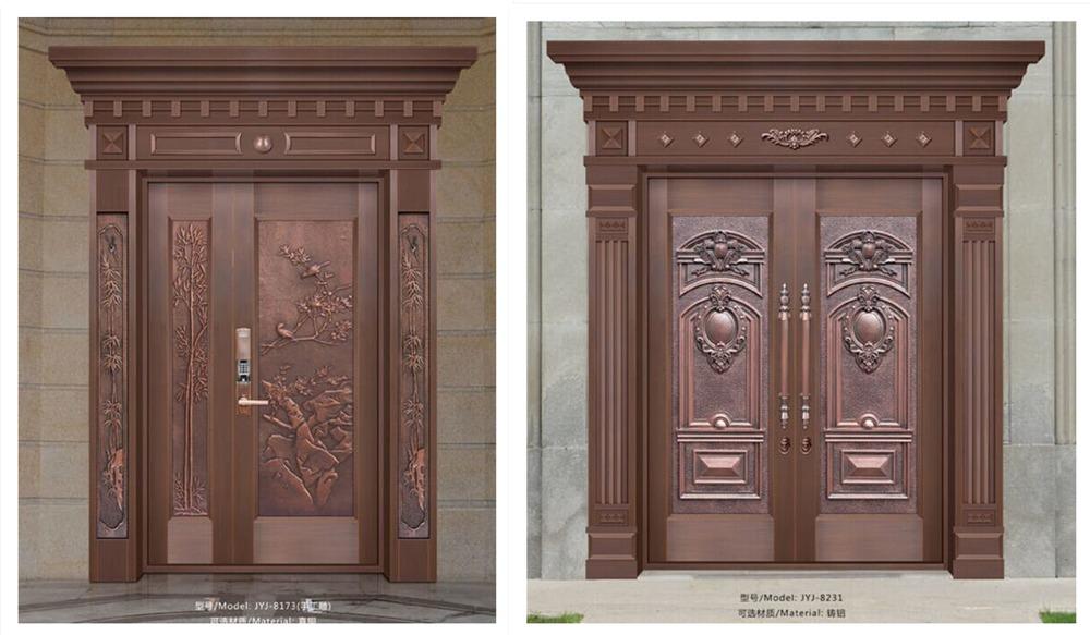 Diseos de puertas de hierro principales diseos de puertas de hierro galvanizado con de polvo de - Puertas de hierro ...