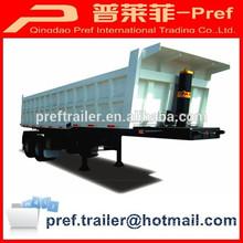 directa de la fábrica 25 cbm 2 ejes de nuevo trailers de descarga para la venta
