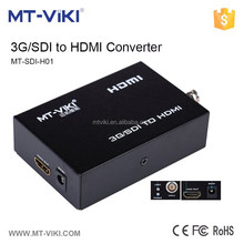 MT-VIKI Sdi to hdmi signal converter with automatic identification resolution audio and image output synchronously MT-SDI-H01