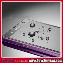 2015 Best deal Premium tempered glass screen proctector for sony xperia zr