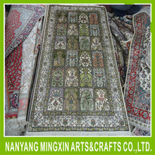 2015090113 oriental pure silk hand knotted pakistan carpet