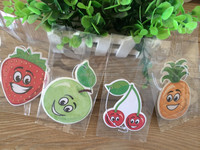 2018 cheapest froest fruits paper air fresher /freshener/freshner for dollar store SHOE SHAPE