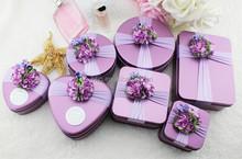 alibaba china small wedding favors box / wedding heart shape candy box