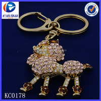 Novelty Creative Leg rose flower The chest Goat Fancy shaped Metal keychains