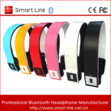 Bass stereo handsfree music & calling noise cancelling wireless fashion mobile headset bluetooth