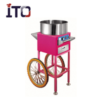 SH-EC/GC Cotton Candy Floss Machine with suger