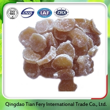 Sweety low calories dried Ginger Flakes