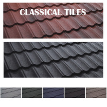 Durable Roof Panel Stone Coated Roof Tile Color Roof Philippines