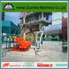 Automatic coal burner castable refractory