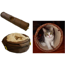Playful Cat Agility Tunnel Cat Accesorry Products Cat Toy Tunnel Collapsible