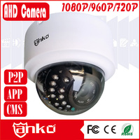 Weatherproof 720P AHD Dome Camera with 3.6mm lens