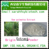 High quality Saw palmetto extract 25% 45% fatty acid