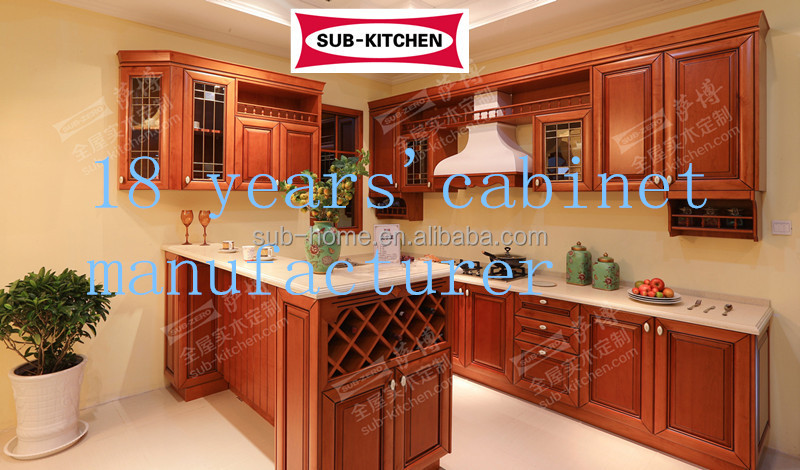 China Made Modular Wholesale Kitchen Cabinet Buy Prefab