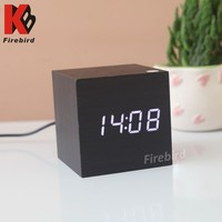 Best selling mini led clock power by usb charging cable electric dentist gift