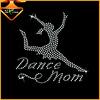 Crystal wholesale dance mom iron on rhinestone transfer