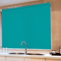 waterproof washable fabric roller blind for window curtain