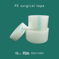 2.5*910cm medical perforated PE tape for fixing