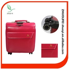 bright color small best travel business carry on pilot trolley bag