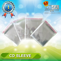 super clear cd dvd plastic sleeve