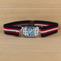 Yiwu factory wholesal different striped lovely kids elastic belt