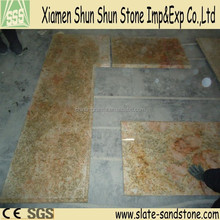 Factory Price Precut Slab Imperial Gold Granite Kitchen Countertop
