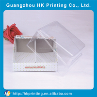 PVC packaging box for baby's shoes