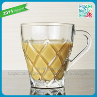 Handle Glass Drinking Coffee Cup Good Glass Cup OEM Branded