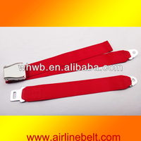 Perfect two points aircraft safety seat belt