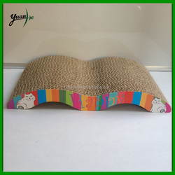 Eco-friendly pet products corrugated cat scratcher