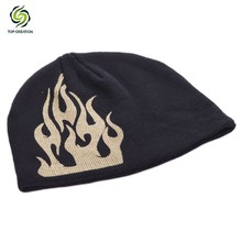 colorful comfortable and warm knitted man hat