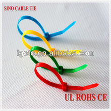 nylon soft cable ties plastic nylon 66 with Rohs CE