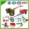Water / Air Cooled Diesel Engine China Farm tractor, high quality rubber tracks farm tractors (8hp to 22hp)