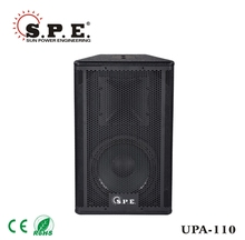 road show installation active powered speaker 2-way 10inch UPA-110