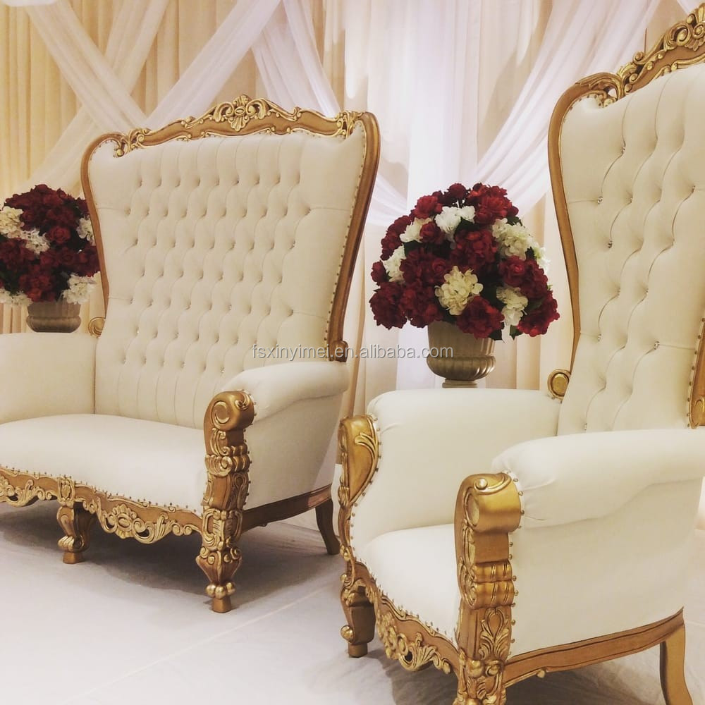 Quality Guaranteed Luxury Royal Queen Throne Chair For