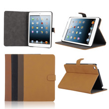 retro style leather belt clip Case for tablet ipad mini 4, leather flip case for ipad mini4