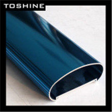 Toshine Brand Powder Coating /Anodized /Wood effect /Polished/Electrophoresis aluminum profile for home furniture